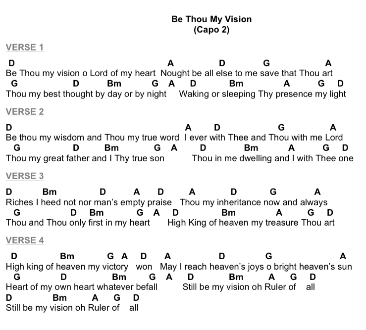 Hymn Refresh: Be Thou My Vision | Worship Artistry