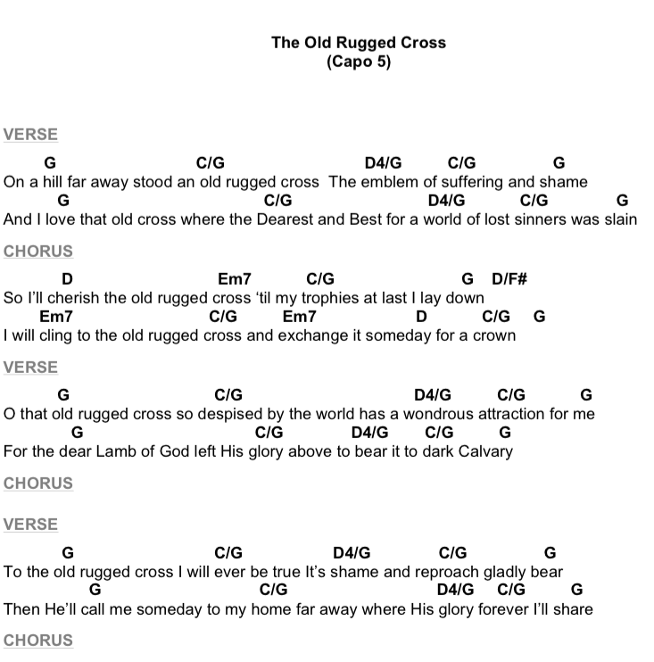 Acoustic Hymns: The Old Rugged Cross | Worship Artistry