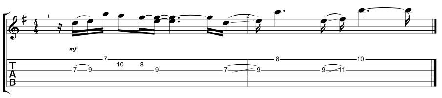 Lead Verse 2 Riff 2