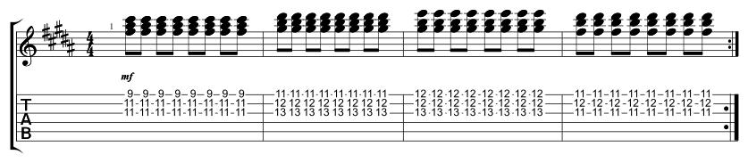Lead Chorus Triads