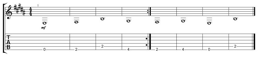Lead Bridge with Down Chorus