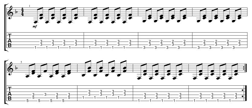 Lead 2nd Chorus
