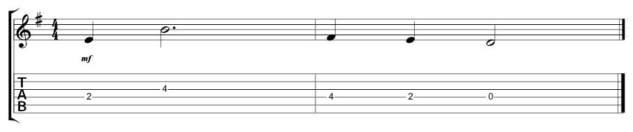 Lead Verse Riff 2