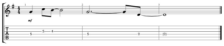 Lead Verse Riff 3