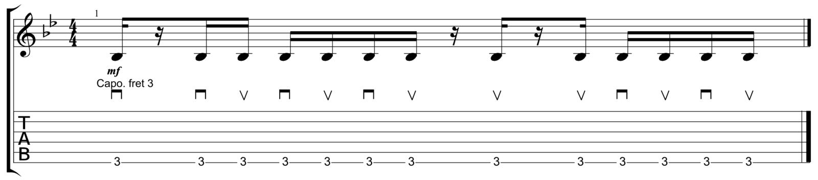 Acoustic Verse 1