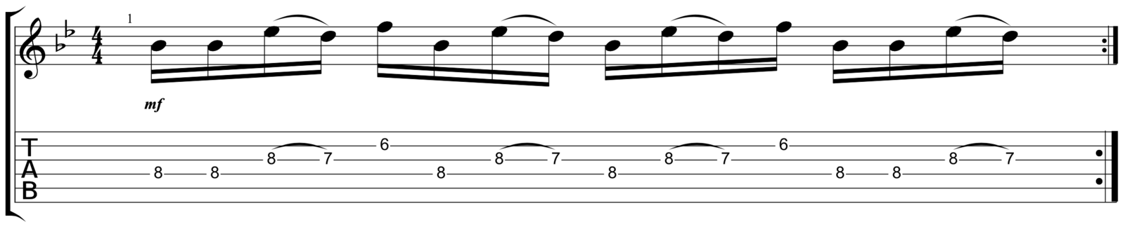 Lead Verse 2 Riff