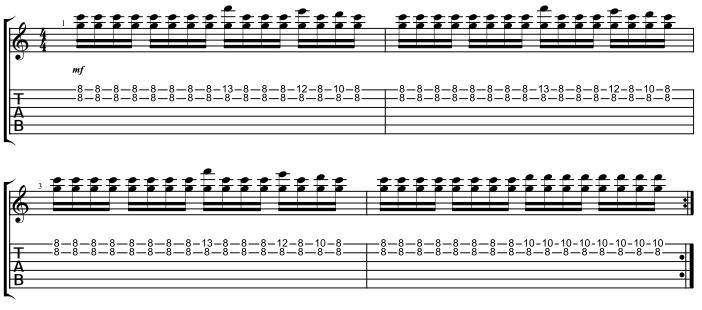 Lead Chorus Riff